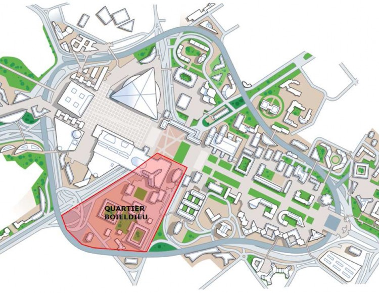Localisation du site d'étude