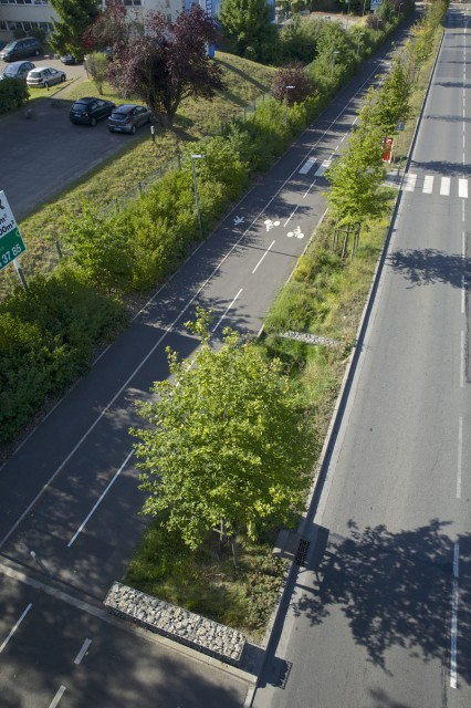 Aménagement axe routier