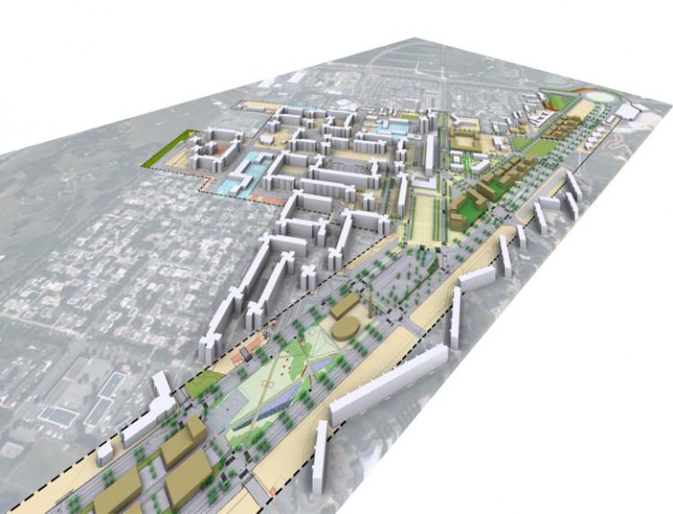 Etude de recomposition urbaine RN2