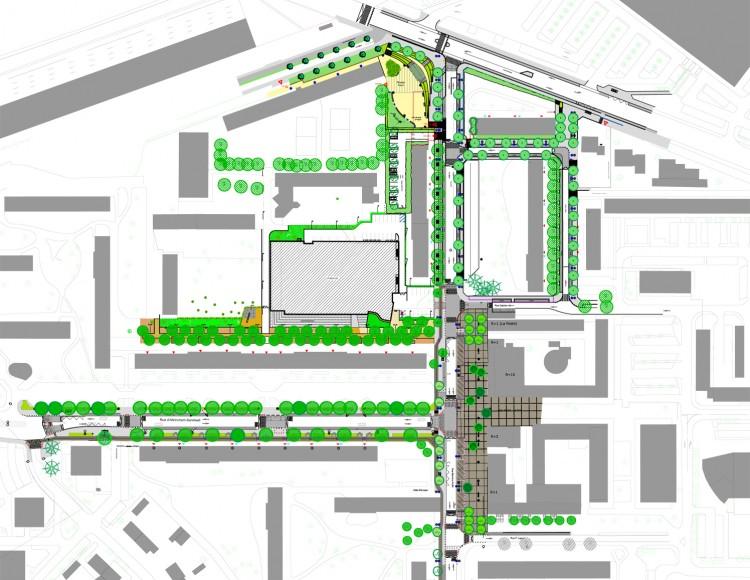Plan d'aménagement des Tilleuls