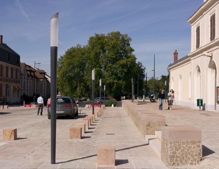La place de la gare - Aujourd'hui