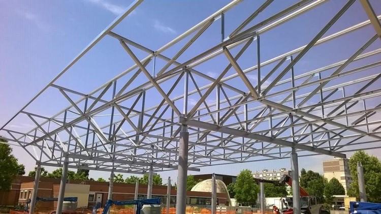 Photo structure halle